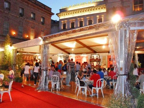 Foto del festival del prosciutto edizione 2011
