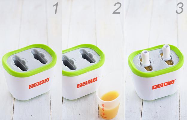 Polos de lima limón. Probamos la máquina de helados Zoku