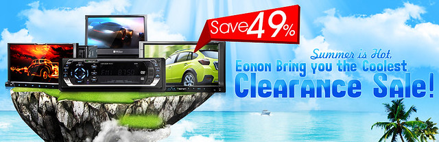 Eonon Clearance Sale for Car DVD Player — Up to 49% OFF