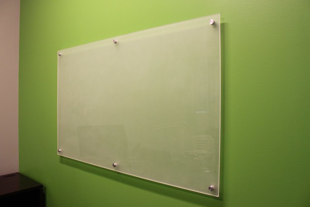 Glass dry erase board | Flickr - Photo Sharing!