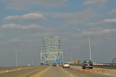Traveling I 40 into Memphis Tn from Bentonville Arkansas - 13