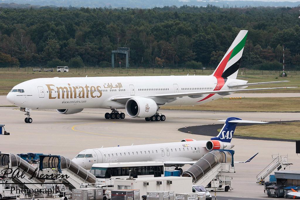 A6-ECP - B77W - Emirates
