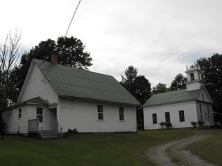 Huntingville Universalist  Church and Church Hall