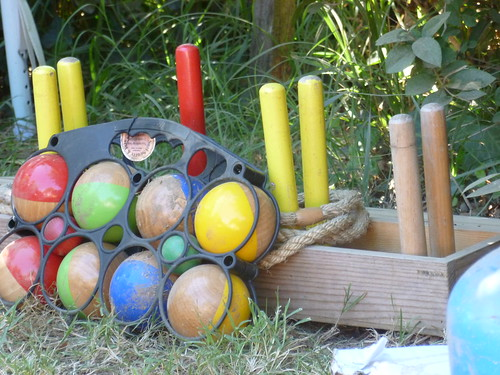Boule and quoits