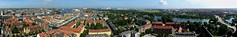 Pano view from Our Saviours tower (cropped)