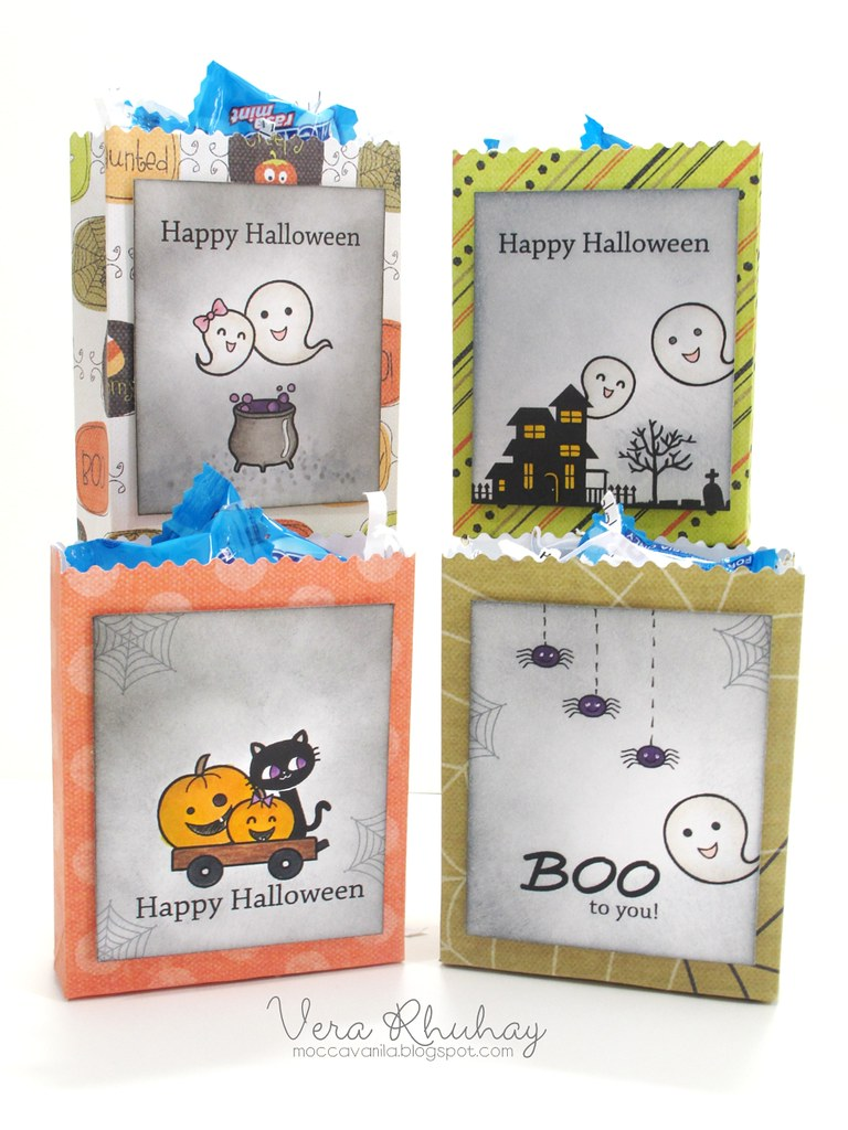 halloweeen mini treat bags set