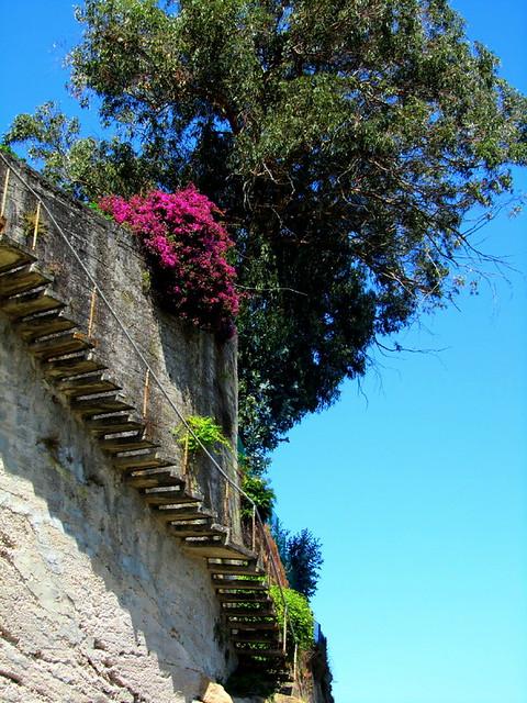 La escalera B