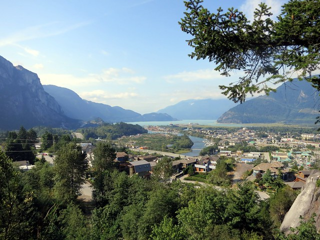 Squamish and Howe Sound from Penny Lane