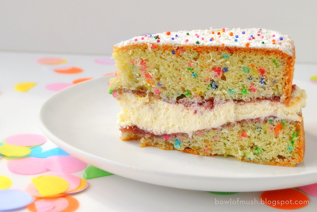 Large Victoria Sponge Birthday Cake Recipe