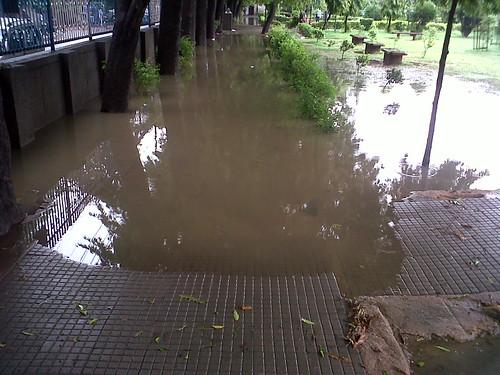 Rain in New Delhi by Sandeep.Bhalla