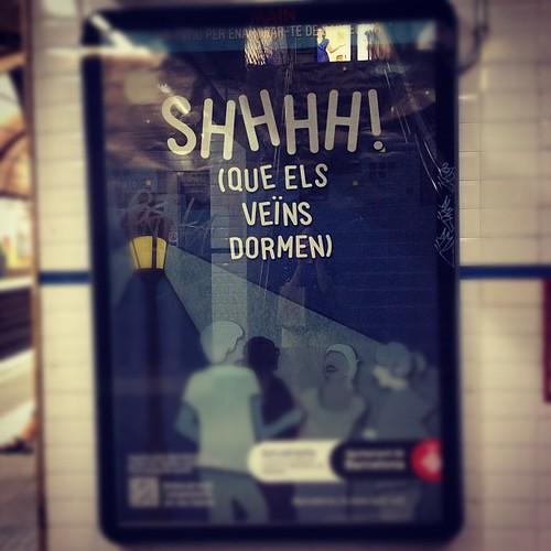 Mola la educación cívica del metro by rutroncal
