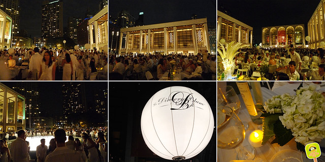 diner en blanc NYC 2012 under the night sky 2