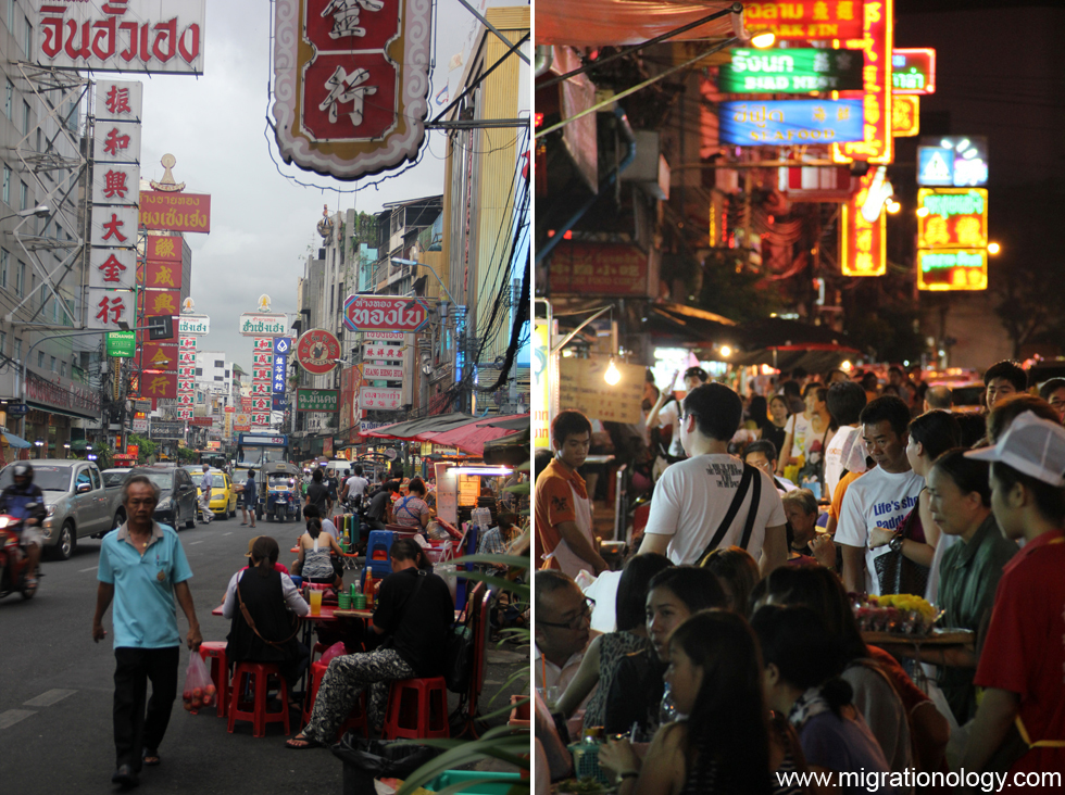 Bangkok's Yaowarat Chinatown - A Place of Never Ending Action