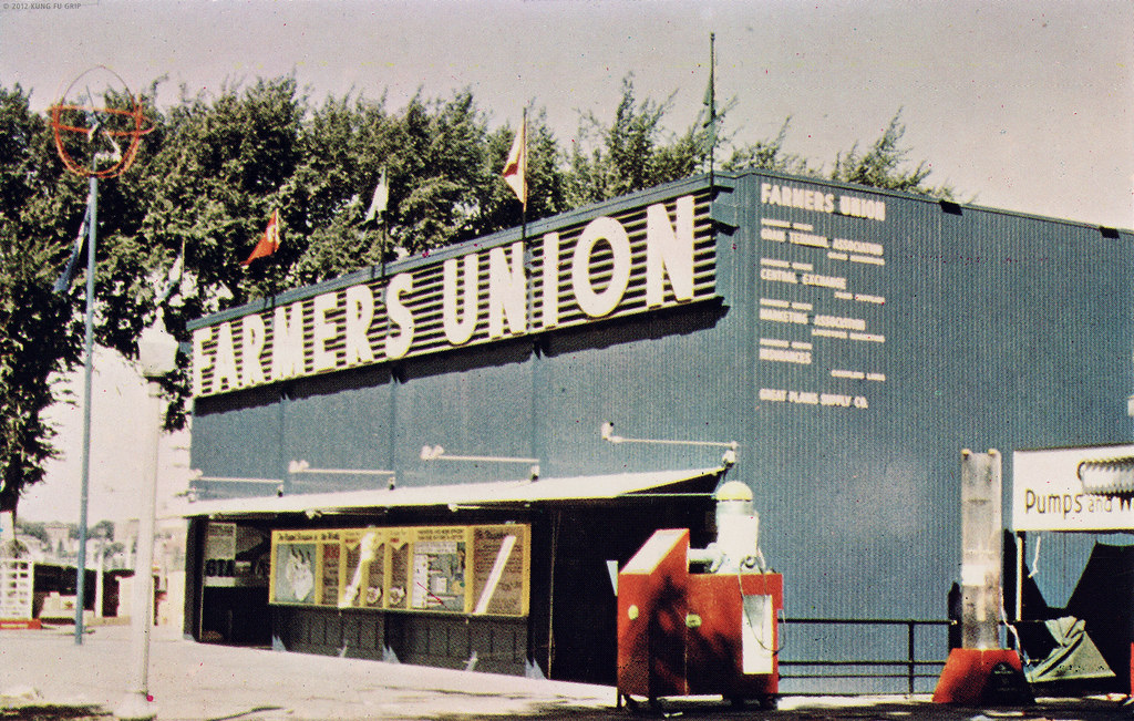 Minnesota State Fair Farmers Union building - days gone by