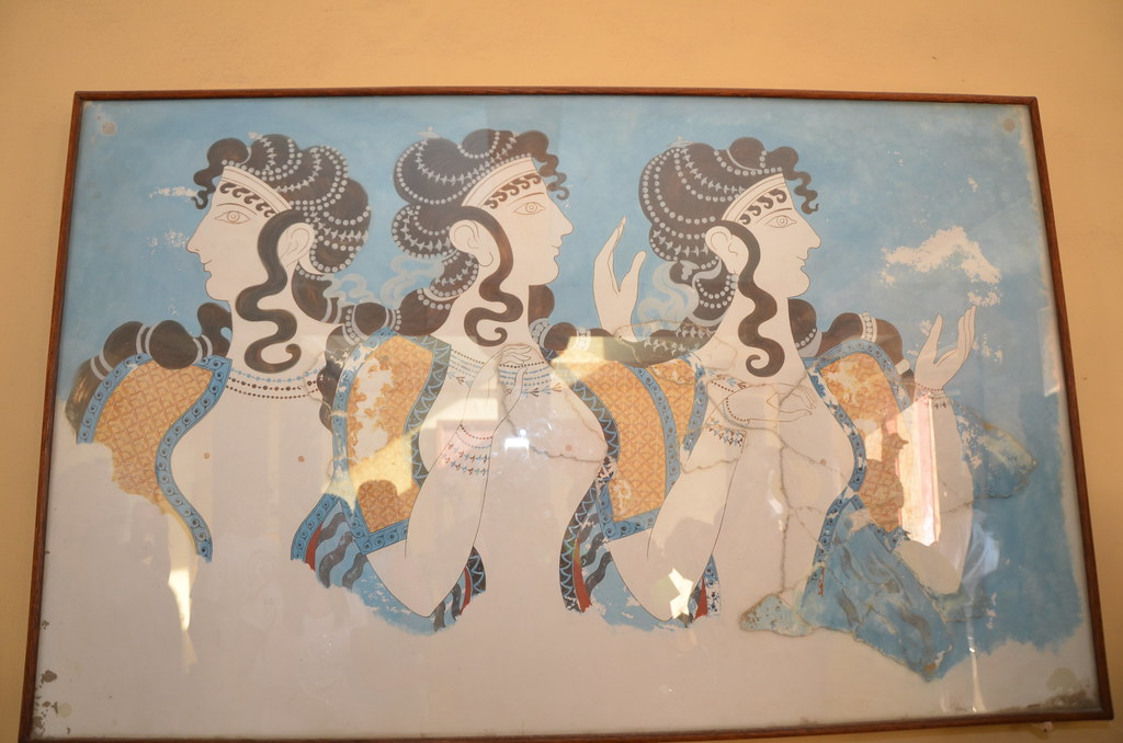 Knossos, Crete: The Palace of Minos