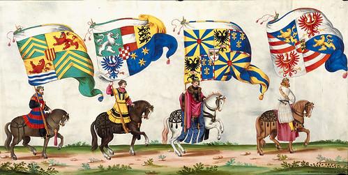 004-Triunfo del Emperador Maximiliano I…1700-Copyright Biblioteca Nacional de España