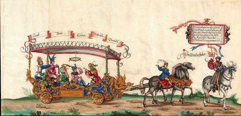 011-Triunfo del Emperador Maximiliano I…1700-Copyright Biblioteca Nacional de España