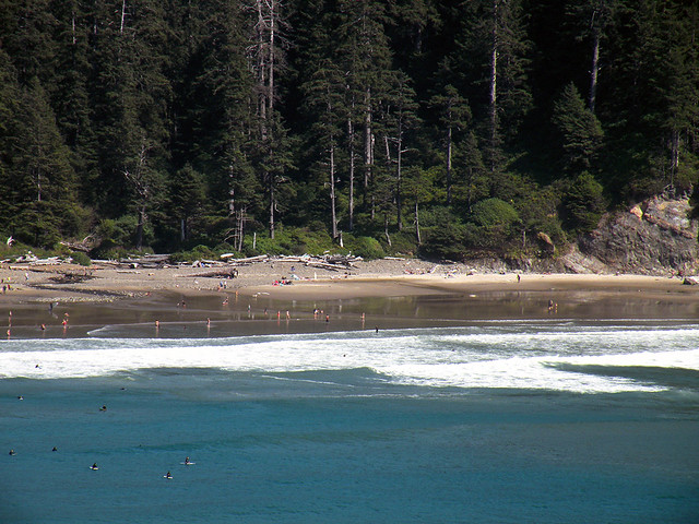 Oswald West Coved Beach