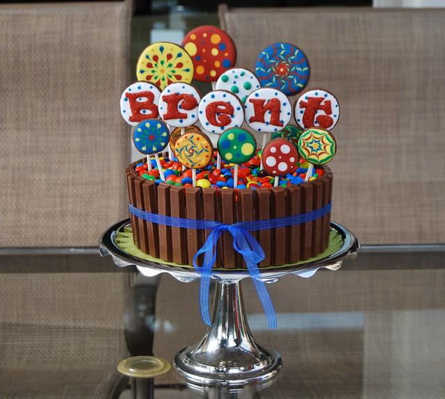 Happy Birthday Kat Cake