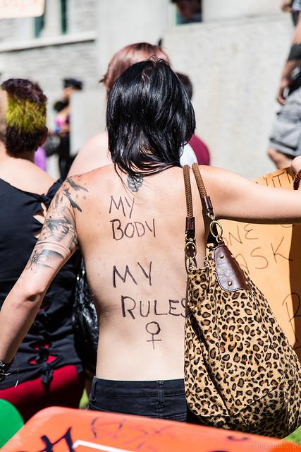 Ottawa Slutwalk 2012