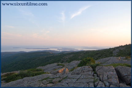 View from Cadillac Mountain.