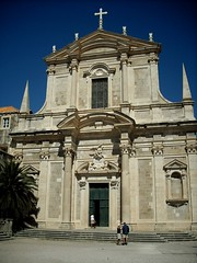 Jesuit church in Dubrovnik