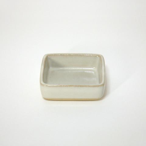 小久慈焼「角ミニ皿」