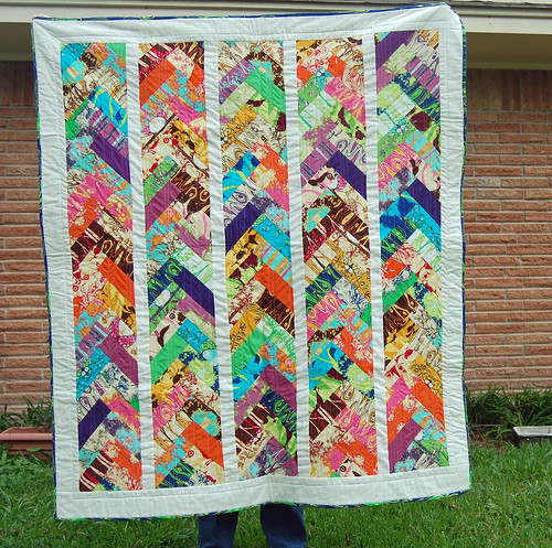 Opal Owl braid Quilt - finished 8/19/2012