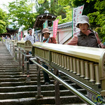 Prayer Wheels Leading to Daisho-In Temple - Miyajima, Japan