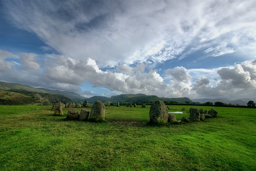 Stone Circle in Lake District