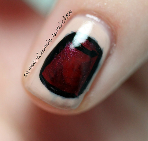 Doctor Who Fez Nailart