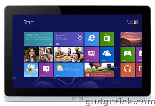 IFA 2012: планшет Acer Iconia W7