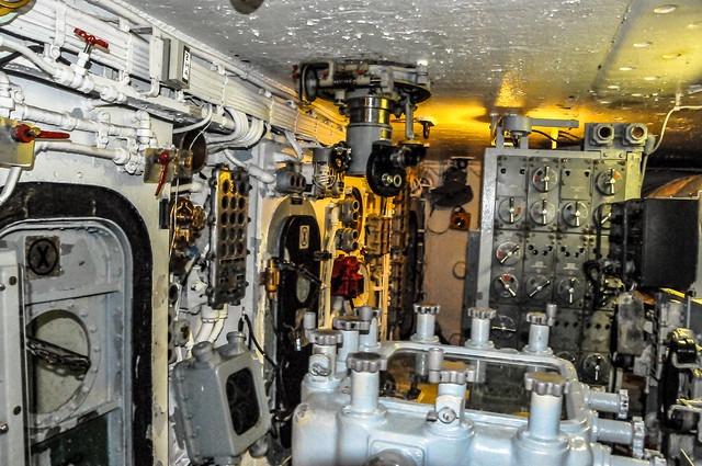 Inside a Turret on the Enlisted Berthing at the USS New ...