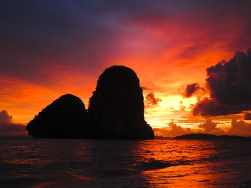 [フリー画像素材] 自然風景, 朝焼け・夕焼け, 海 ID:201209062000