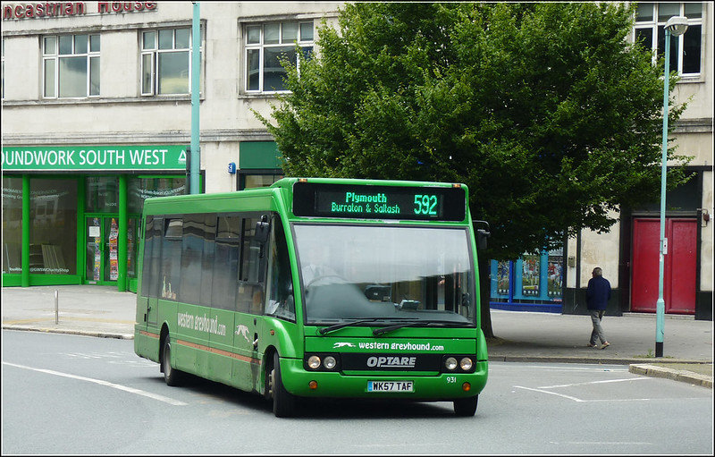 Western Greyhound 931 WK57TAF