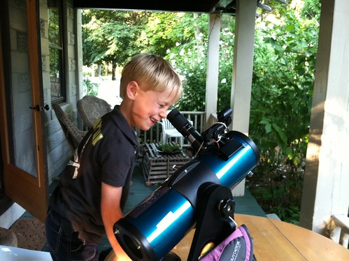 Orion StarBlast Library Telescope