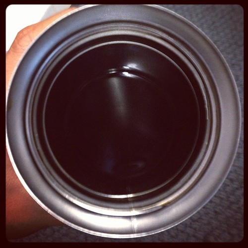 The pit of black coffee. I miss my creamer already. #whole30