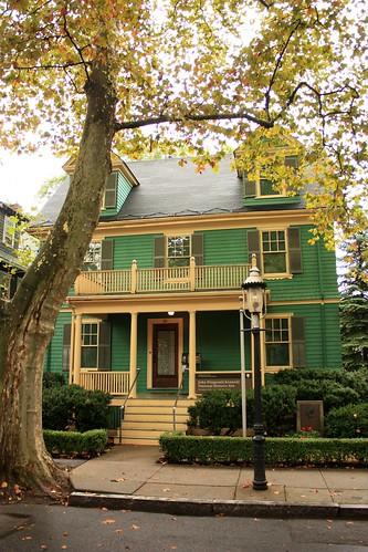 John F. Kennedy house in Brookline, Massachusetts