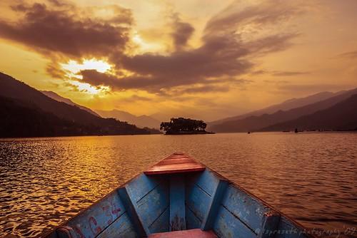 Sunset Boating ...