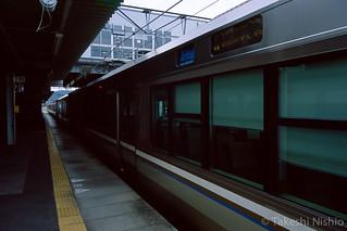 新快速 敦賀行き, 播州赤穂駅 / Special Rapid Service train to Tsuruga, Bansyu-ako sta.