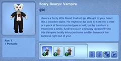 Scary Bearys - Vampire
