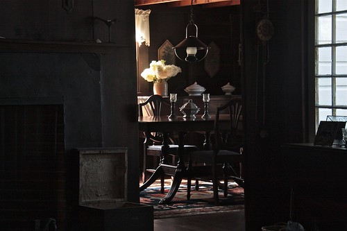 August Light in an Old Maine Cottage