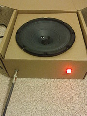Speaker box practice amp