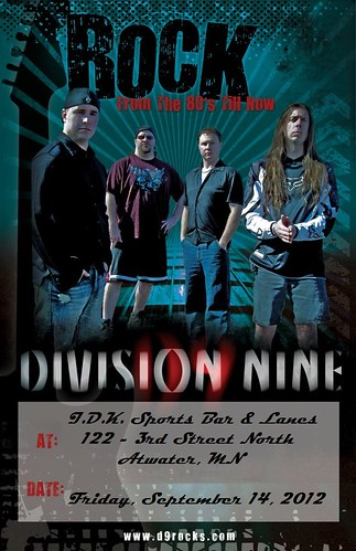 09/14/12 Division Nine @ IDK Sports Bar & Lanes, Atwater, MN