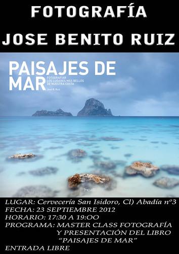 Presentación del libro Paisajes de mar JBR
