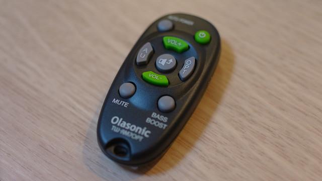 Olasonic TW-D7OPTリモコン