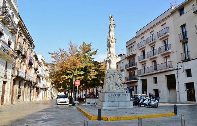 Vilafranca del Penedes Spain  City pictures : Plaça Jaume I, Vilafranca del Penedès | Flickr Photo Sharing!