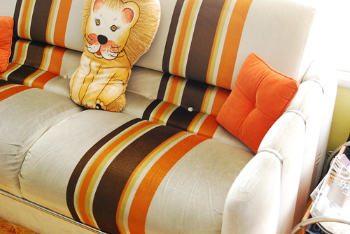 details of sofa