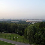 Vorobyovy Gory Nature Preserve and the Grand Sports Arena of the Luzhniki Olympic Complex, Moscow
