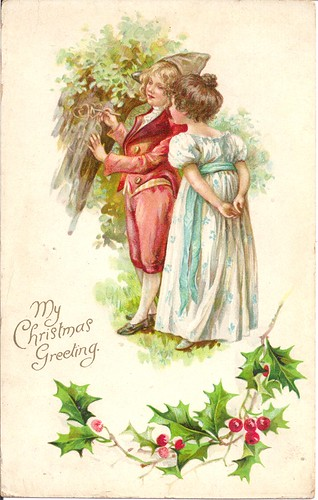 Vintage-My Christmas Greeting